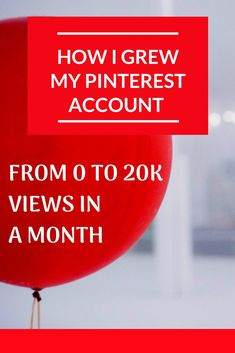 Are you ready to learn how I grew my Pinterest account from zero views to a whopping 20,000+ views in less than a month?