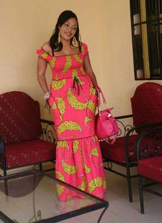 @ African Dresses For Kids, Latest African Fashion Dresses, African Print Dresses, African Print Fashion, Africa Fashion, Ethnic Fashion, Fashion Women, African Attire, African Wear