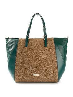 Borbonese Contrasting Panels Tote Bag - Eraldo - Farfetch.com