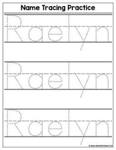 the 25 best name tracing ideas on pinterest name writing practice free name generator and. Black Bedroom Furniture Sets. Home Design Ideas