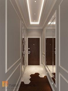 Фото дизайн холла из проекта «Интерьер трехкомнатной квартиры 96 кв.м. в ЖК «Привилегия», стиль нео-классика»