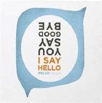 Hello, Hello: Lyricology Wall Art - at Seasons by Design specialty shop, 2605 Ford Drive, New Holstein, WI 53061.       920-898-9081 Seasonsbydesigngifts@yahoo.com  Follow us on Facebook