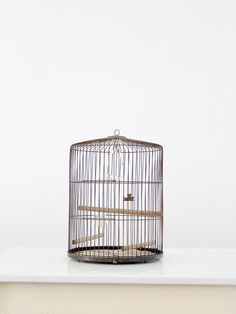 Vintage Bird Cage / 1950s Bernard Edward Co Cage by 86home on Etsy, $165.00