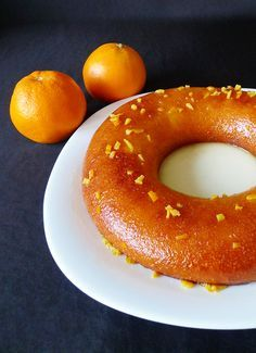 Recette du savarin à l'orange Bagel, Doughnut, Deserts, Bread, Cooking, Voici, Beignets, Christmas, Tailgate Desserts