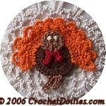 Crocheted Thanksgiving Turkey - free crochet pattern