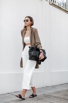 Sandalias Slide: Ideas De Looks Para Usarlas Este Verano | Cut & Paste – Blog de Moda