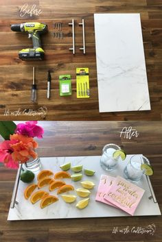 DIY Serving Tray Tut