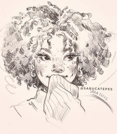 Sara Tepes is a freelance artist who loves experimenting with as many mediums as possible. Girl Drawing Sketches, Cool Art Drawings, Cartoon Drawings, Cartoon Art, Pretty Art, Cute Art, Arte Sketchbook, Arte Pop, Grafik Design