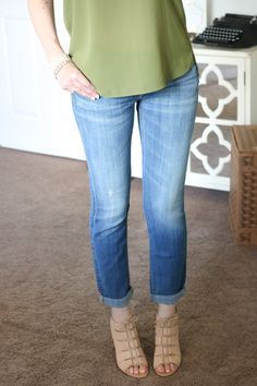 """""""Josefina"""" Boyfriend Jeans from 7 for All Mankind - July Trunk Club Review"""