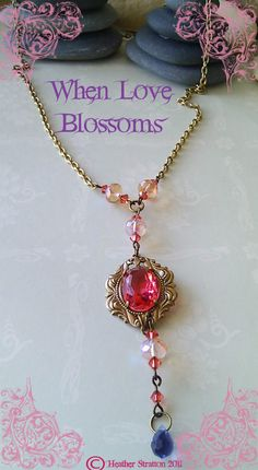 When Love Blossoms necklace
