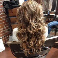 Balayage and highlights, Curls - Hairstyles and Beauty Tips