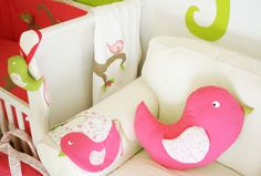 Little bird cushion (by Cristiana Resina)