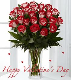 Happy Valentine's Day love kiss red roses romance valentine's day cupid