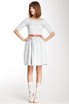 Perfectly Polished: Our Top Picks Orla Kiely Boatneck Silk Dress