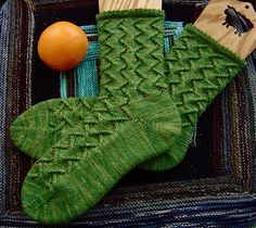 Green Meanie Socks: oranged (C365:60) by cauchy09, via Flickr