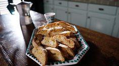 Almond and lemon biscotti | Italian recipes | SBS Food