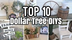 These are just a few of my favorite dollar tree diys. Dollar Tree Decor, Dollar Tree Store, Dollar Tree Crafts, Dollar Stores, Mini Pallet Ideas, Diy Baby Gifts, Trash To Treasure, Thrifting, Project Ideas