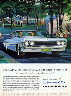 1961 Oldsmobile Dynamic 88 Holiday Coupe