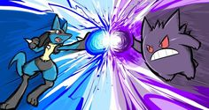 Next, I'll be doing another Pokemon Power Portrait. Which Pokemon should I dra. Best Pokemon Ever, Real Pokemon, Pokemon Fan Art, Lucario Pokemon, Pikachu, Ghost Type, Pokemon Universe, Susanoo, Pokemon Pictures