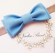 Галстук бабочка Sky - голубой,однотонный,галстук бабочка,галстук-бабочка