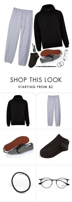 """Tired af, acne is being a lil'🐶, and my foot f'in hurts like hëlł"" by music-is-life-and-feeling ❤ liked on Polyvore featuring River Island, Hanes, Vans, Wolford, NYX, Ray-Ban and Clinique"