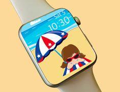 Watch Wallpaper / Apple Watch / FitBit / Smartwatch / Watch Background Best Apple Watch, Apple Watch Faces, Fitbit App, Wallpaper Backgrounds, Wallpapers, Share Icon, Star Watch, Apple Watch Wallpaper, Fine Watches