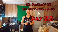 22 Pushups in 22 Days Challenge - Day 22