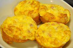 Egg Ham Cheese Muffins