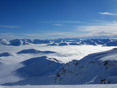 the Southern Alps from Mt Hutt, west of Christchurch, NZ