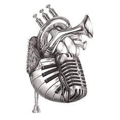 Heart of Music from Jake Weidmann Artist and Master Penman
