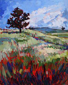 Lone Pine Painting
