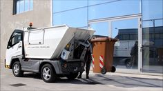 How to use waste transport electric vehicles with bin lifting system