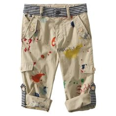 Harajuku Mini for Target® Toddler Boys Splatter Paint Pant -Tan $20.00 www.target.com