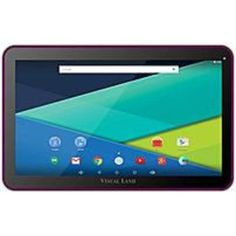 Visual Land Prestige Elite 10Q ME-10Q-16GB-MAG 10-inch Tablet PC - 1.6 GHz Quad-Core Processor - 1 GB DDR3 RAM - 16 GB Storage - Android 4.4 KitKat - Magenta