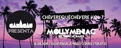 Este SÁBADO, toda la LATINIDAD en la fiesta #ChévereQuéChévere Vol 7 con la reina del trópico, DJ @mollymeniac!