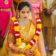 Shopzters is a South Indian wedding site Wedding Saree Blouse Designs, Saree Wedding, Wedding Bride, Wedding Wear, Wedding Bells, Dream Wedding, South Indian Weddings, South Indian Bride, Indian Jewellery Design
