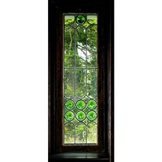 Residential Stained Glass Windows ❤ liked on Polyvore featuring home, home decor and windows stained glass