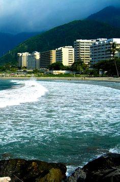 Playa del Estado Vargas. Venezuela