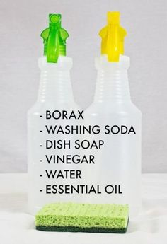 Here's our favorite germ-combating homemade cleaning recipe to keep fall flu away.