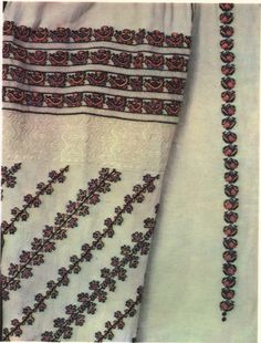 FolkCostume&Embroidery: Costume and Embroidery of Bukovyna, Ukraine, part 1 morshchanka