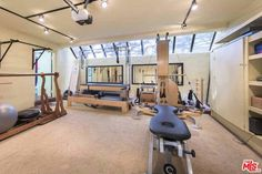 As well as its own private swimming pool, Sting's beach home also comes complete with its own fitness centre. Weights and reformer Pilates machines will ensure you keep fit during your stay.
