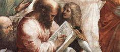 Pitagora, matematico e filosofo del sec. 6º a. C., famoso per il suo teorema e per la tavola di moltiplicazione recante il suo