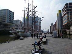 Malreise Hamburg – unser erster Tag in der Hafencity | Malreise Hamburg – Museumshafen in der Hamburger Hafen City (c) Frank Koebsch