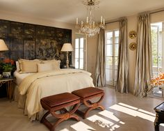 Traditional Bedroom + Chinoiserie Master Bedroom Design, Pictures, Remodel, Decor and Ideas - page 2