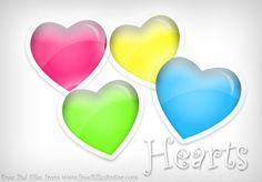 Heart colours