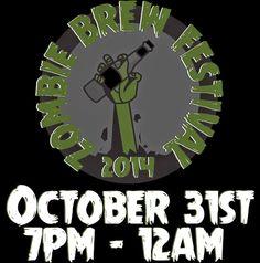 Zombob's Zombie News and Reviews: Zombie Brew Festival 10/31/14 Hermitage, TN
