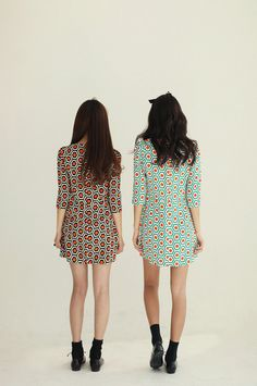 wish i could see the fronts of these uber cute dresses