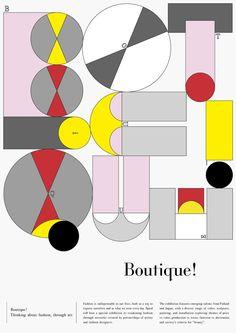 Boutique! | Exhibition Branding Design Inspiration | Award-winning Graphic Design | D&AD