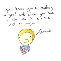 9GAG - How you know you're reading a good book
