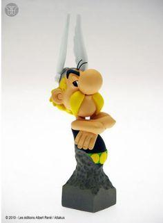 Figura Asterix de busto | Merchandising Películas